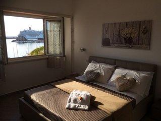 delizioso appartamento fronte porto - 4 posti letto