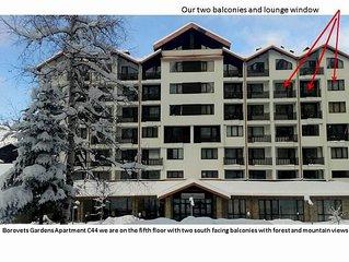 Modern Spacious Apartment in a Mountain Paradise