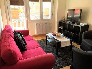 Bonito y comodo piso de 3 habitaciones, luminoso y bien equipado