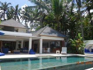 Splendide nouvelle villa de luxe a UBUD au milieu des rizières