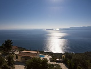 Private Pool Villa With sea Views in Very Quiet Location,Wifi- No Neighbour