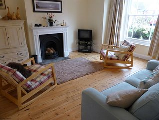 Garden flat is immaculately presented, ground floor apartment with a courtyard a