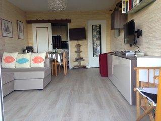 La Baule Plage Benoît : Grand studio calme très bien situé, avec terrasse, Idéal