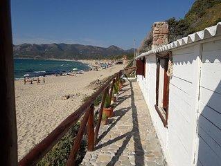Antica Casa del pescatore sulla sabbia Antica Tonnara