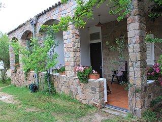 Appartamento Carrubo, in Villa, 80m dal mare,veranda,giardino