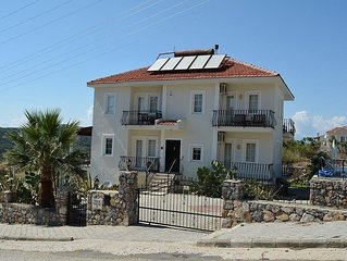 Villa with  large private pool, Bar and Gardens. Sleeps up to 14 adults .