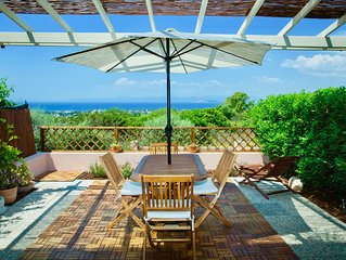 Lovely home with spectacular ocean view in Sardinia!