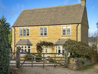 Compton House is a delightful and modern Cotswold cottage.