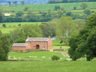 Offering stunning views of the Pennines and the river, Udford House sits next to