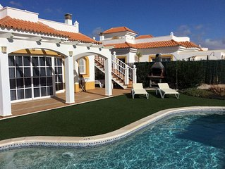 Private Heated Pool and Sea Views
