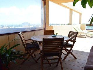 Apartamento céntrico con vistas a Lanzarote e Isla de Lobos