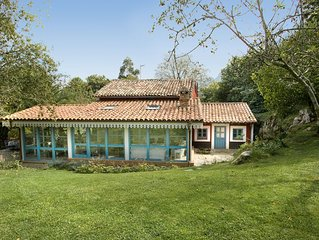 Espectacular villa asturiana