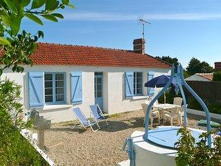Maison de pays avec jardin clos, plage à 300 m, Île de Noirmoutier, Maison 2