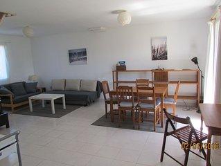 Maison a 1.5 km d'une grande plage, tres au calme, vue sur la campagne