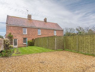 A gorgeous little cottage right in the heart of a popular coastal village.