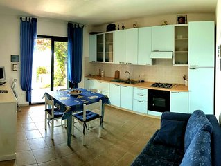 casa blu mare per un soggiorno di tutto relax con vista mare