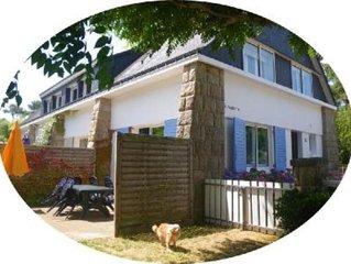 maison avec petit jardin clos à 200m de la Grande Plage de Carnac