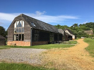 Stunning detached barn conversion in the New Forest National Park