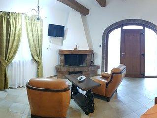 Grazioso appartamento nel cuore della Toscana, Terme a 1km, Wifi gratuito