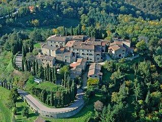 Appartamento Superior, borgo medievale 'Fattoria Castello di Starda' in Chianti