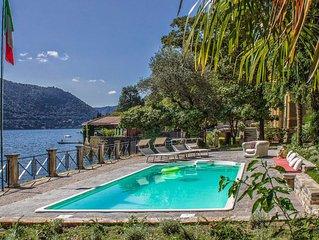 Villa Virginia e una bellissima villa di lusso sul Lago di Como con piscina e ja