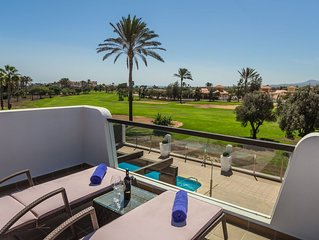New Detached Front Line Villa On Prestigious Fuerteventura Golf Course