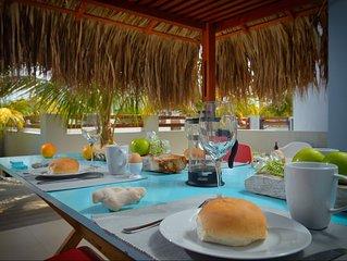 Villa Azul 2 minuten vanaf de zee. Zeiltrips mogelijk alleen voor onze gasten