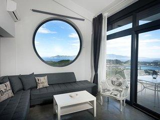 Design 2-level Sea View Suite 'EVRIDIKI'