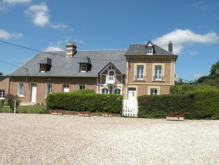 Beautiful holiday home with enclosed private garden at just 25 km from Le Havre