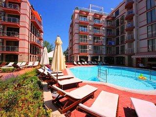 Ferienwohnung Sonnenstrand fur 1 - 4 Personen mit 1 Schlafzimmer - Ferienwohnung