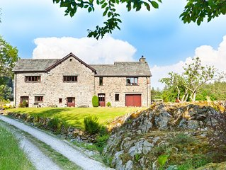 Stunning Large Holiday Home in Cartmel village, South Lakes