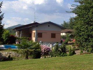 Ferienwohnung in einer großzügigen, familiär geführten Residenz mit Pool