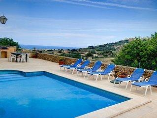 Ta Tonina - Herrlich gelegene Poolvilla mit grosser Terrasse fur max 6 Personen