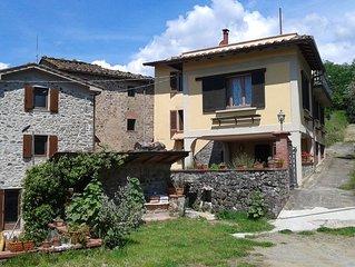 Casa di campagna in Toscana, tranquilla e confortevole - piano inferiore
