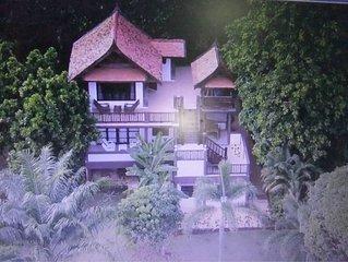 Coconut Villa on Koh Mak Tropical Island