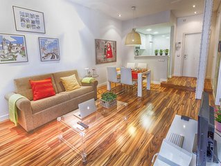 Gran Via 1 apartment in Gran Via with WiFi, integrated air conditioning, balcony