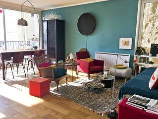 Fabuleux appartement pres de Montmartre - 2 chambres sur jardin