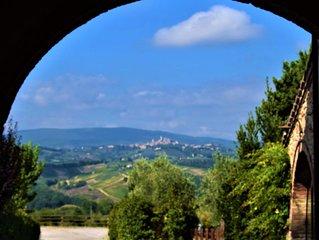 Appartamento nella campagna toscana tra Firenze e Siena tariffa speciale autunno