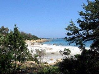 Casa al mare in pineta con accesso diretto alla spiaggia in Sardegna