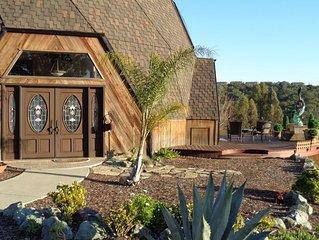 California Dreaming! Luxury custom home on 3 acres with horizon ocean view