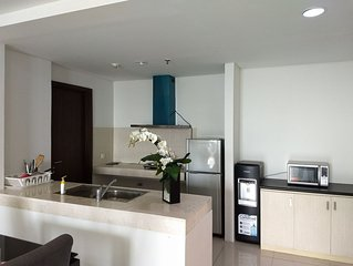Charming Minimalist 3 Bedroom Apartment in St Moritz Puri Indah