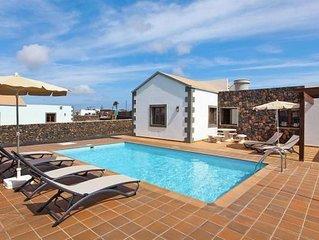 Ferienhäuser, Lajares - La Oliva  in Fuerteventura - 6 Personen, 3 Schlafzimmer