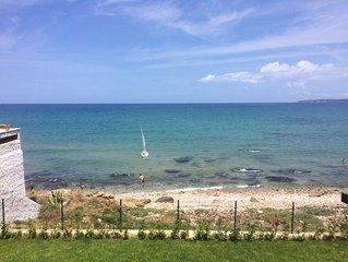 Villa direkt am Meer mit Garten absolut ruhig