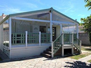 Camping de l'Auzance - Chalet Prestige XL - 3 chambres 58m² avec terra