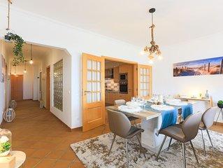 Deslumbrante Apartamento de 3 quartos com vista mar a 2 minutos a pé da praia