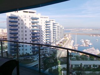 2 Bed,2 Bath On High Floor. Beautiful Marina Views. Your home away from home.