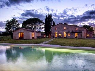 Villa Ombrone 12 in Buonconvento - Toscana