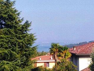 trilocale vista lago Belvedere Barcuzzi