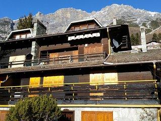 Monolocale 35 mq a Bormio (Dos del Grillo). Typical chalet studio flat in Bormio