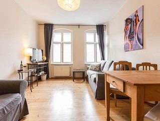 Prenzy Kanzo apartment in Prenzlauer Berg with WiFi.